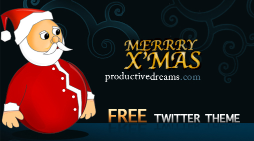 Free Christmas Twitter Theme