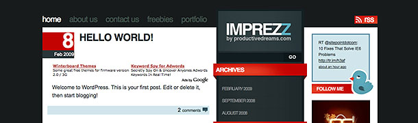 imprezz-free-wordpress-theme