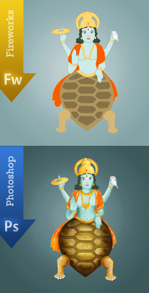 Kurma Avatar - Tortoise